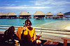 French Polynesia Cruises- 2000 and 2001 - On the R3 : Of our many trips, this cruise in French Polynesia ranks among our very top experiences. Our  2000 French Polynesia cruise was so good that we repeated it in 2001. On both trips we flew from Los Angeles to Papeete Tahiti and boarded the Renaissance R3 for a 10 day cruise.  From Tahiti we sailed to Moorea, Huahine, Raiatea, Bora Bora, and back to Tahiti. Words can't describe the beauty of the islands and their wonderful beaches and motus. The snorkeling was superb. It just doesn't get any better than a trip like this.